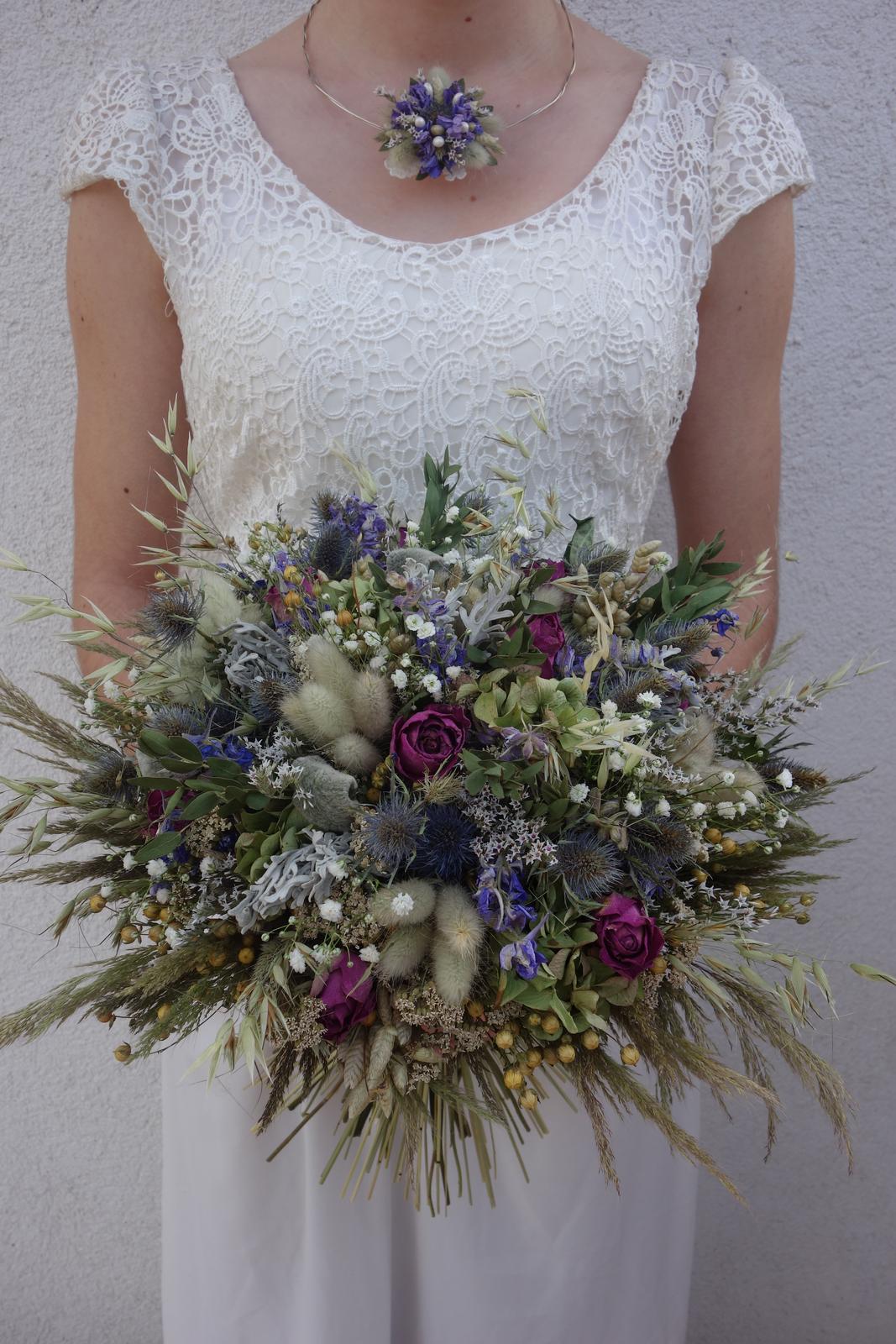 Moje svadobné kytice zo sušených kvetov rok 2019 - Obrázok č. 2