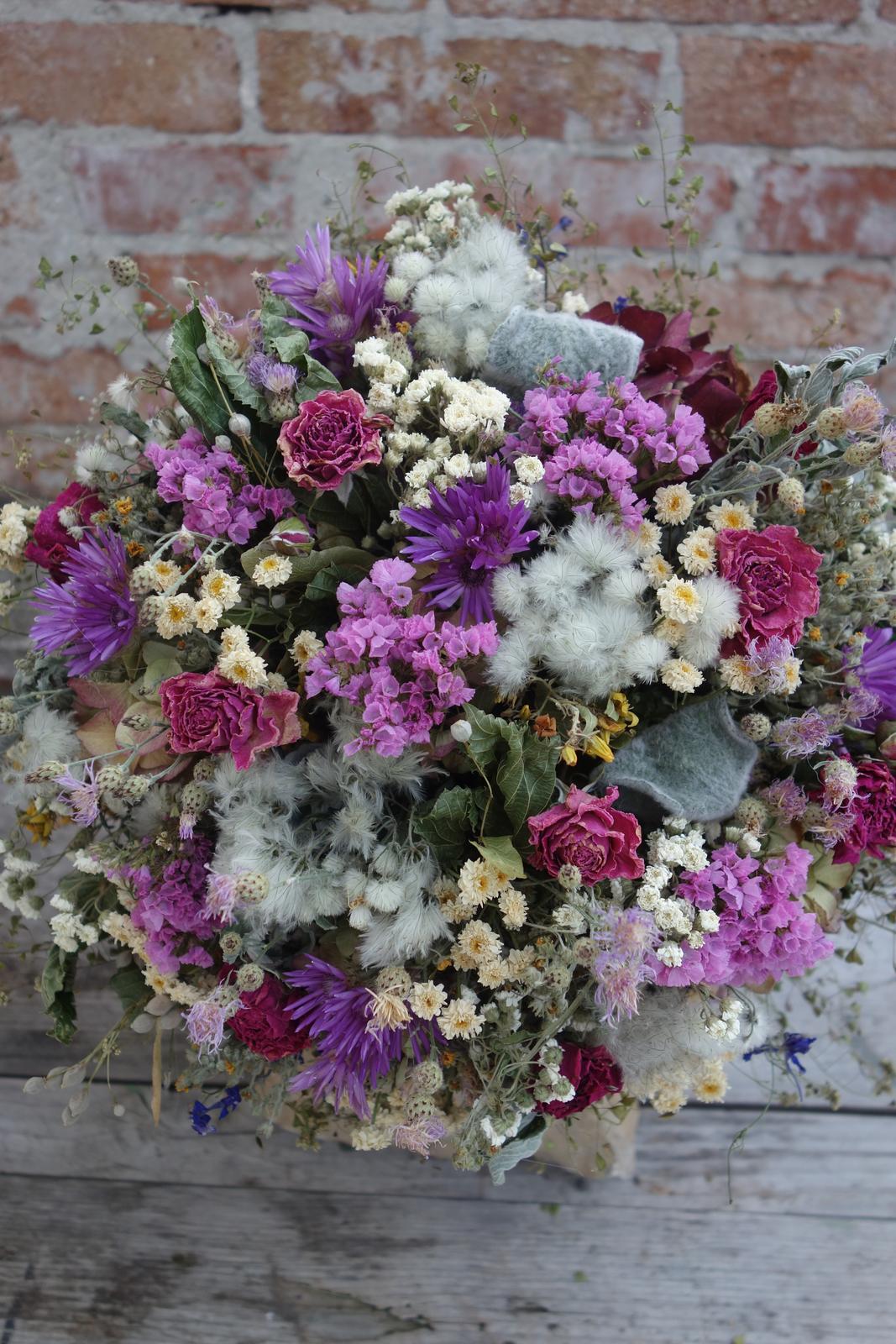 Moje svadobné kytice zo sušených kvetov rok 2019 - Obrázok č. 5