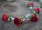Kvetinový polvenček ,