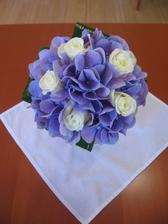 Kytičky pro maminky - hortenzie bude v modré barvě