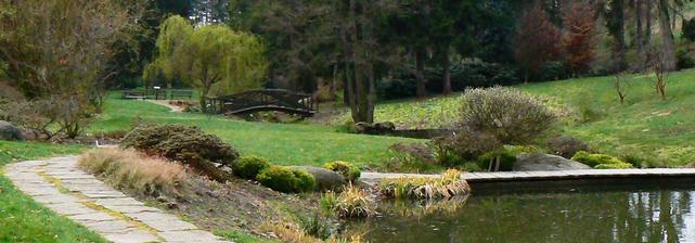 místo obřadu - Dendrologická zahrada v Průhonicích