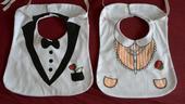 Svadobné podbradníčky,