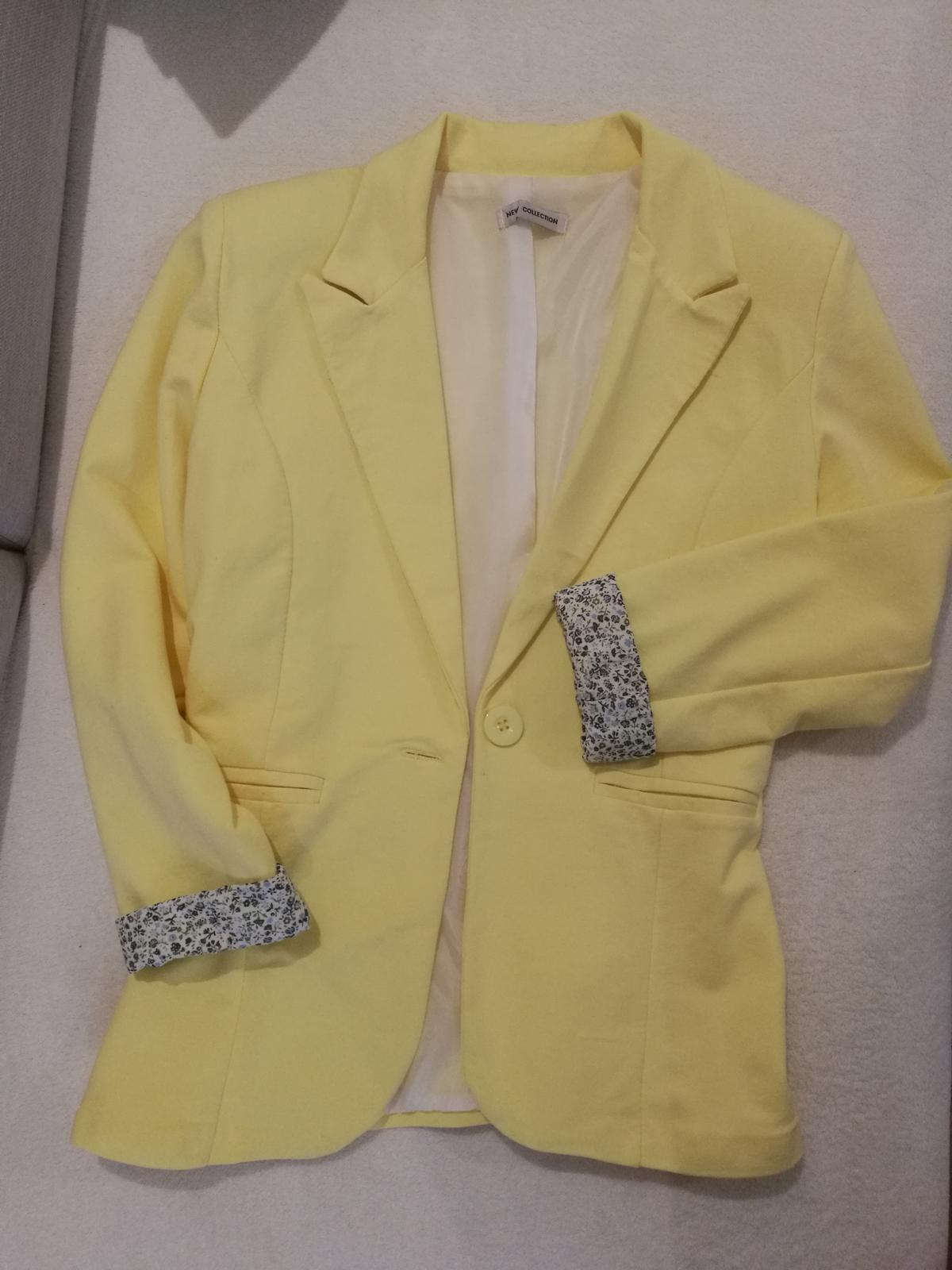 Žlté sako - Obrázok č. 1