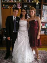 spolu so sestrickou ivou a s bracekom ajkom:)
