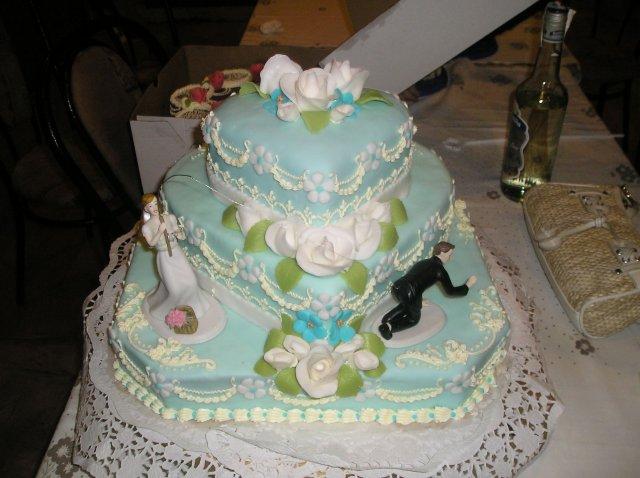 sonicka{{_AND_}}jozko - svadobna torticka...ulovila som zenicha:)