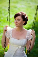 zase nádherná nevěsta ze slovenska, kvůli účesu, omlouvám se za copy