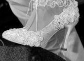 Champagne svatební boty, 37
