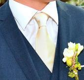 Luxusní ivory kravata Tom Harrison,