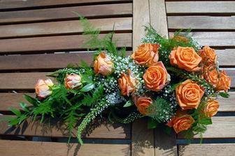 Krásné růže,moc hezká kytička