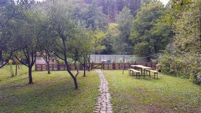 09.2017 statny sviatok prial vyrobe noveho paletoveho plota a upratovaniu zahrady.malincie vpravo pojde prec a planujem tam vysadit par krikov vinica