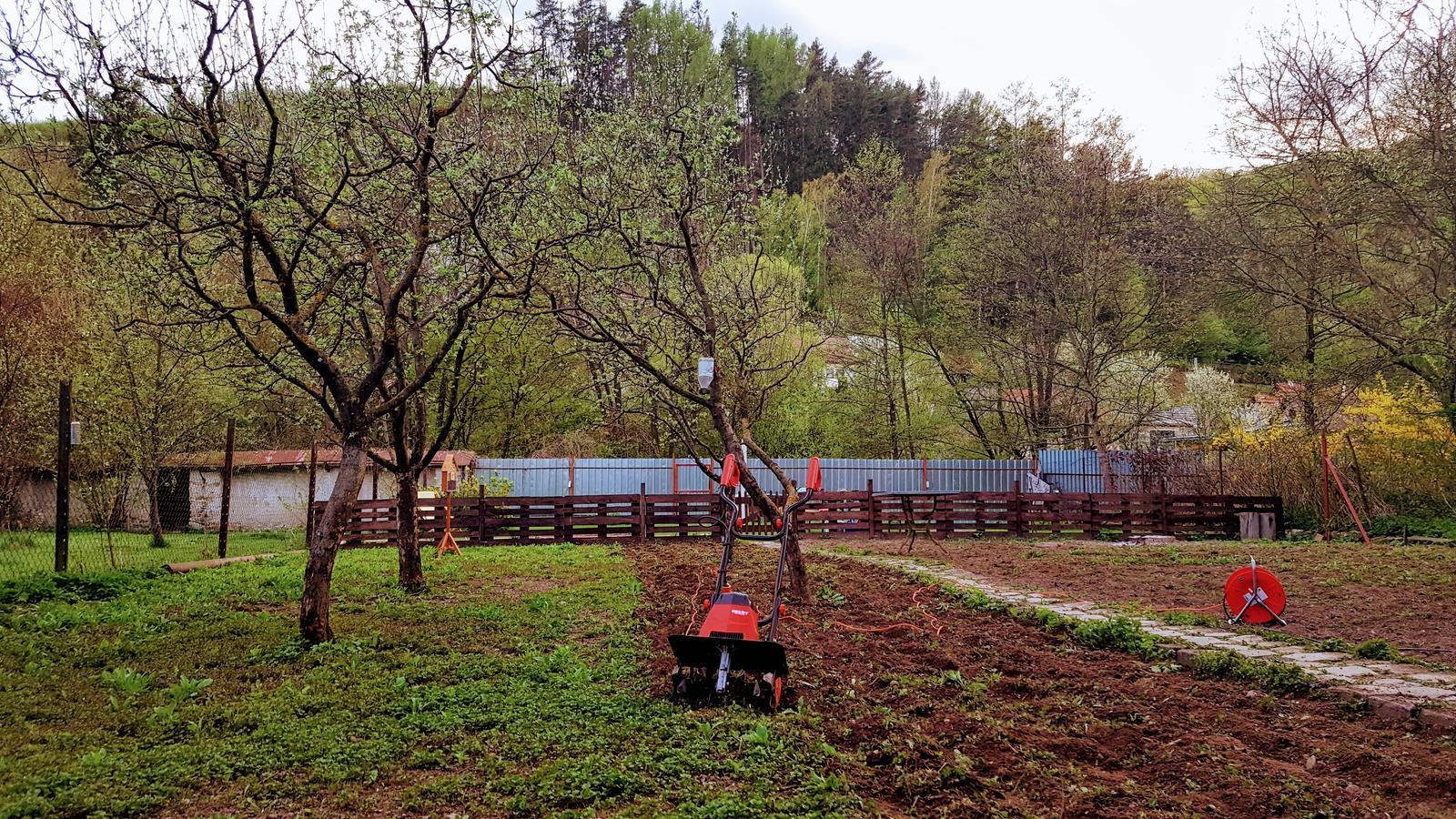 Zahrada a upravy okolo domu - projekt travnik a revitalizacia zahrady rozbehnuty