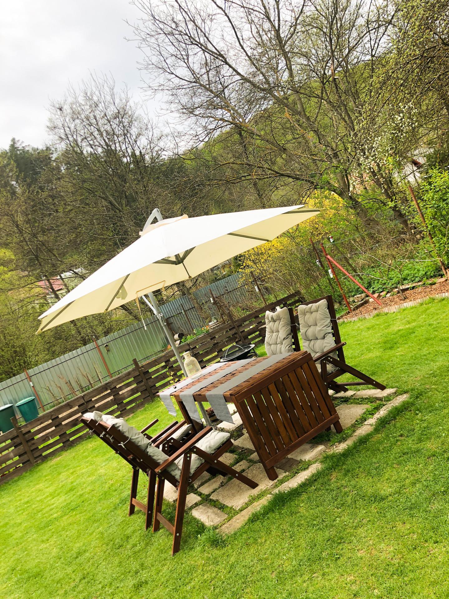 Zahrada a upravy okolo domu - novy zahradny Ikea Setup