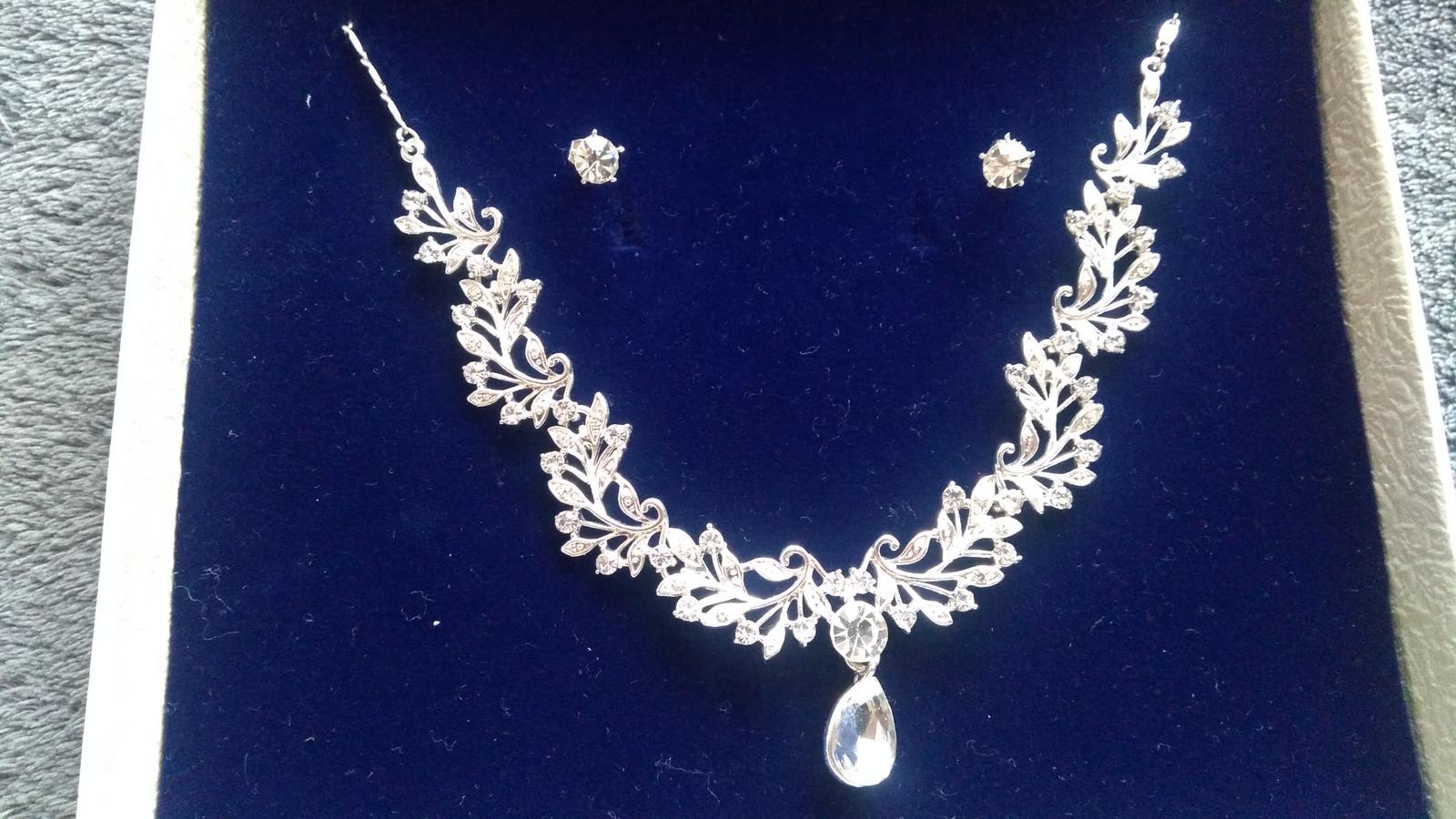 Cirkónový náhrdelník s náušnicami G.Westerleigh - Obrázok č. 1
