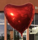 Balón srdce,