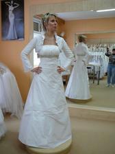 šaty č.1 s bolerečkem