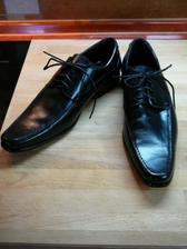 boty pro ženicha..kožené..1600,-