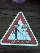 Magnetka Just Married,