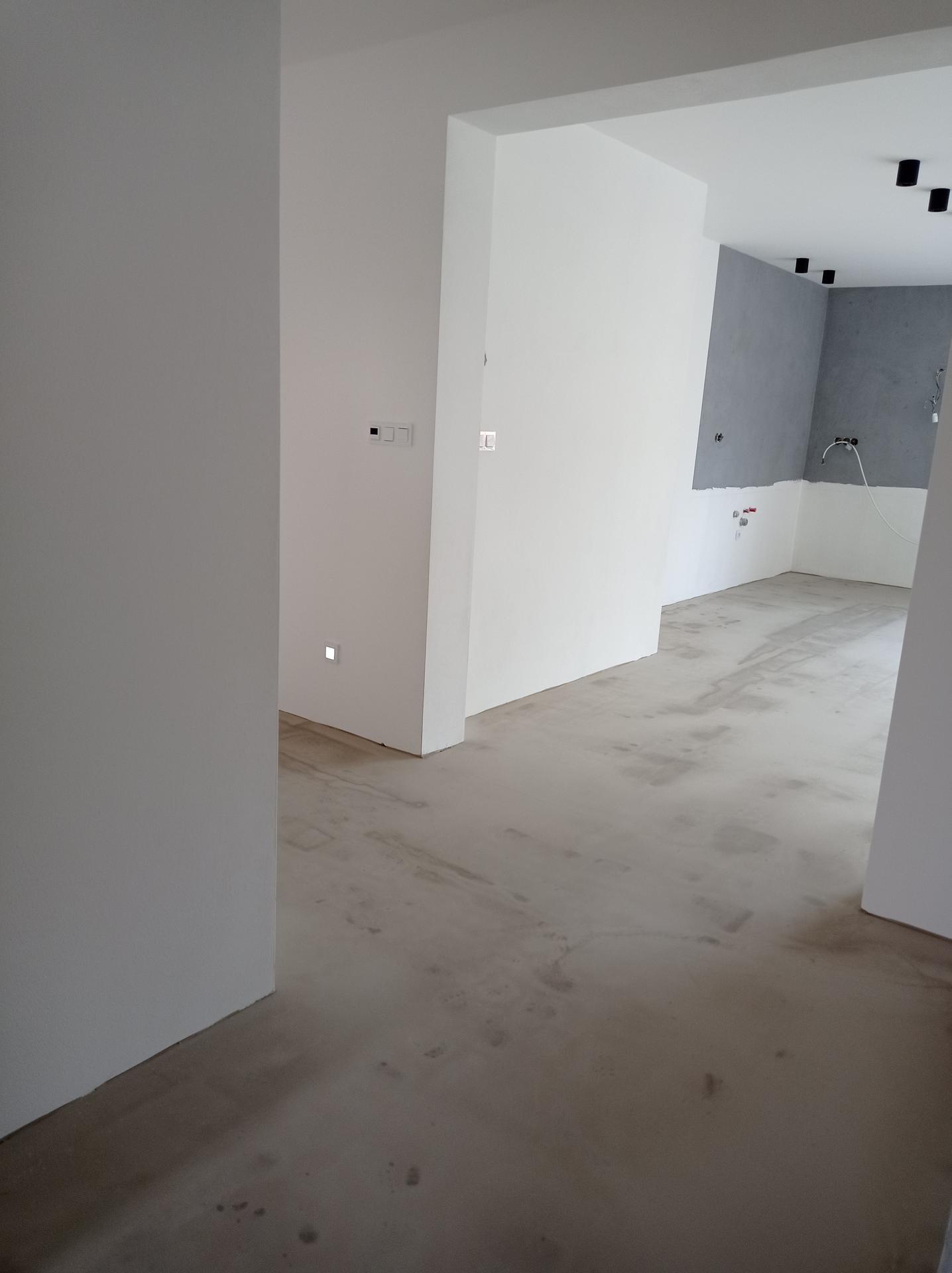 Stavíme domeček - Nivelace hotová