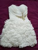 Svadobné - popolnočné šaty., 36
