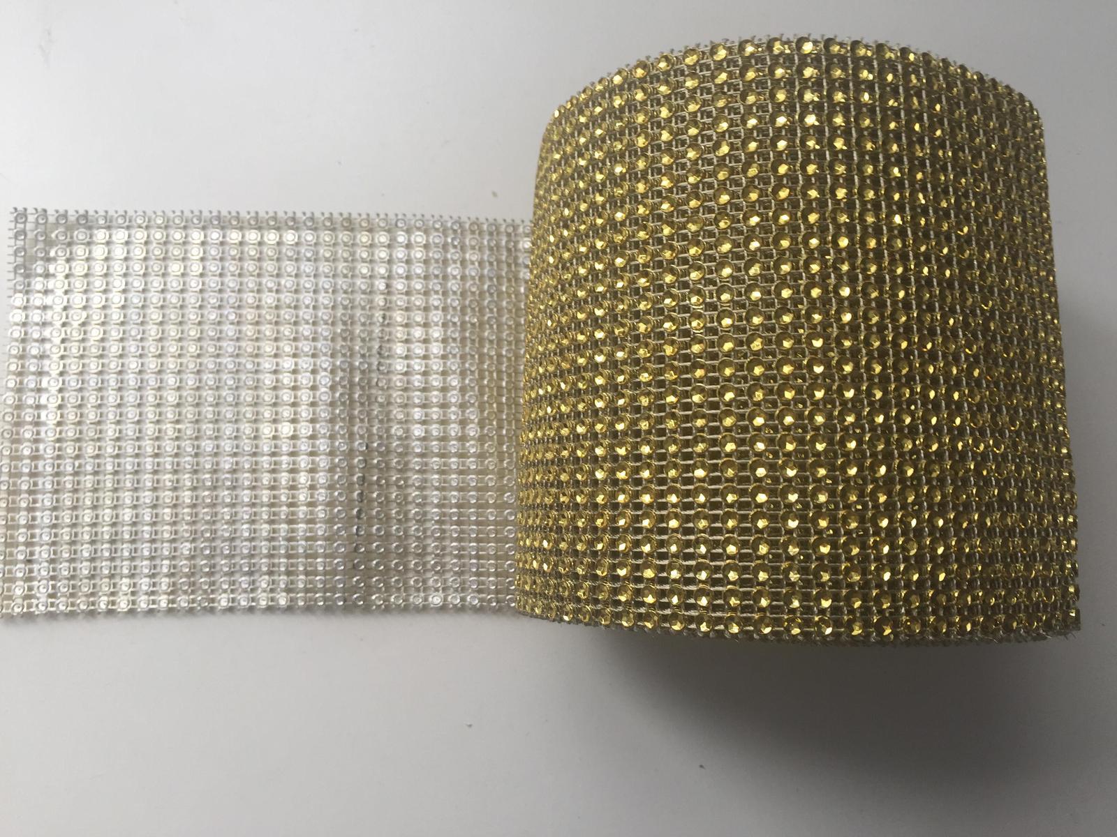 Zlata strasova stola na stol  - Obrázok č. 1