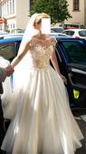 Svatební šaty XS, 34