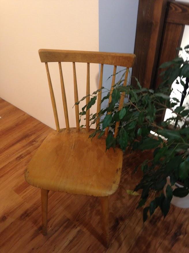 moje malé renovace - židle ironika