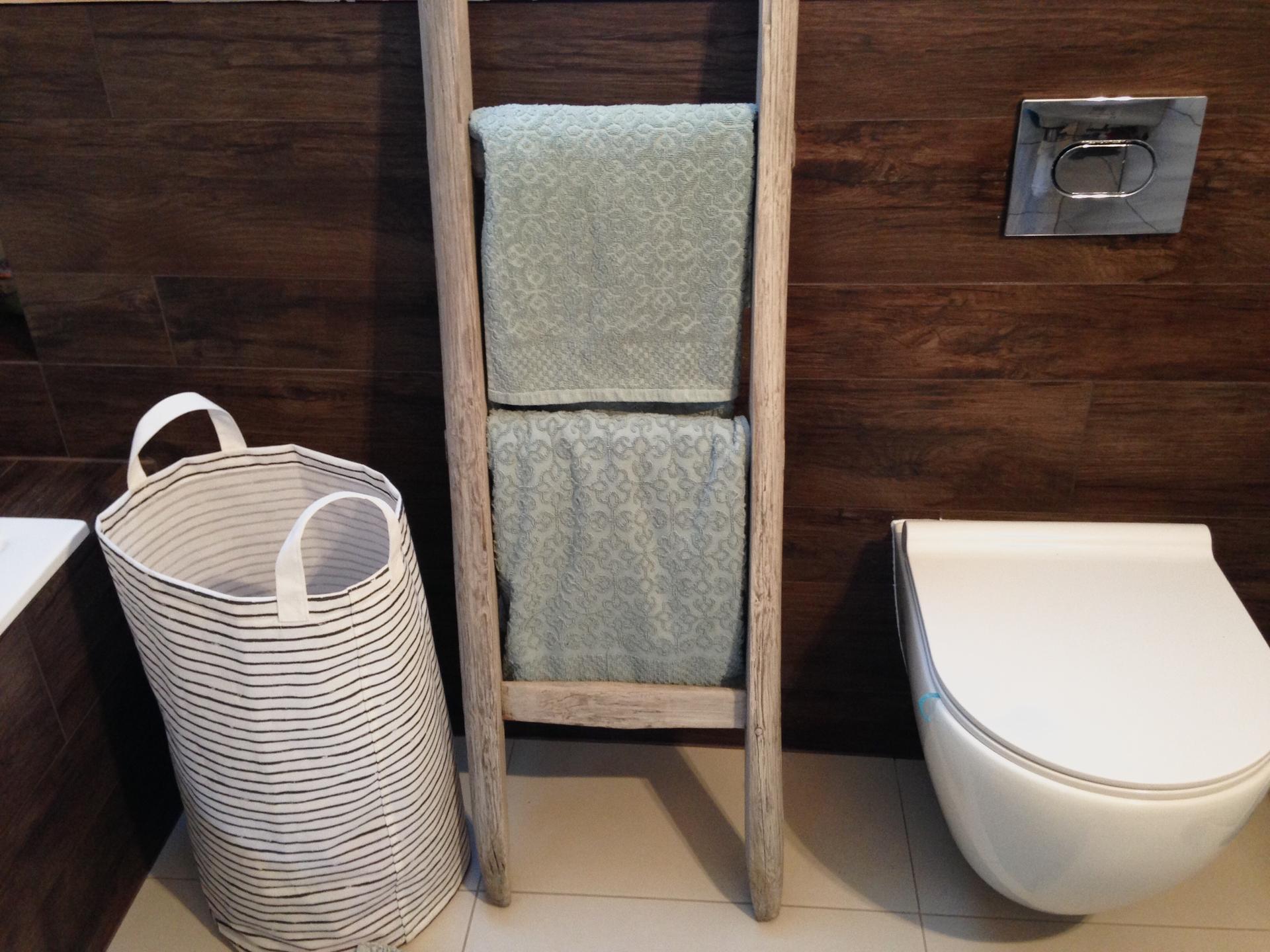 moje malé renovace - v koupelně našel své místo