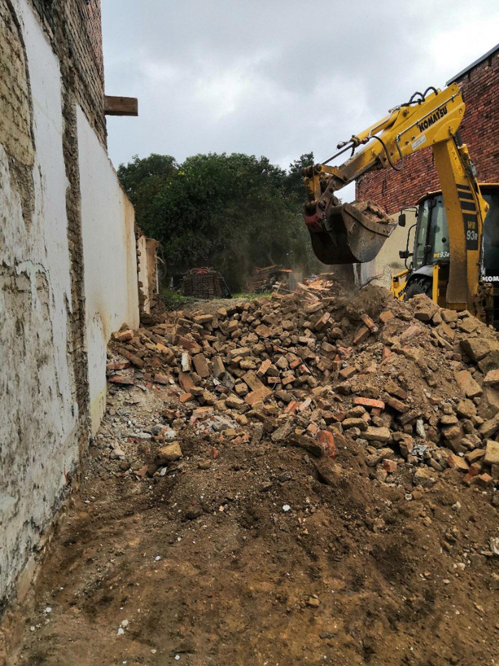 Bourání staré a stavba nové řadovky - Obrázek č. 47