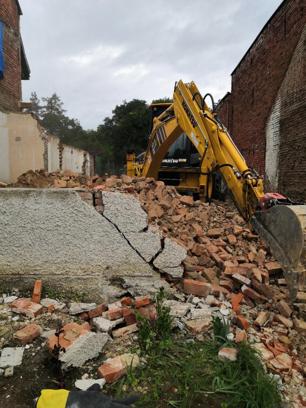 Bourání staré a stavba nové řadovky - Obrázek č. 46