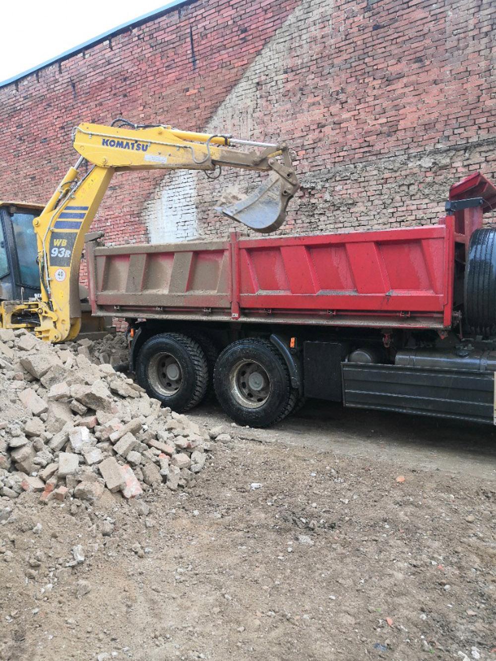 Bourání staré a stavba nové řadovky - Obrázek č. 48