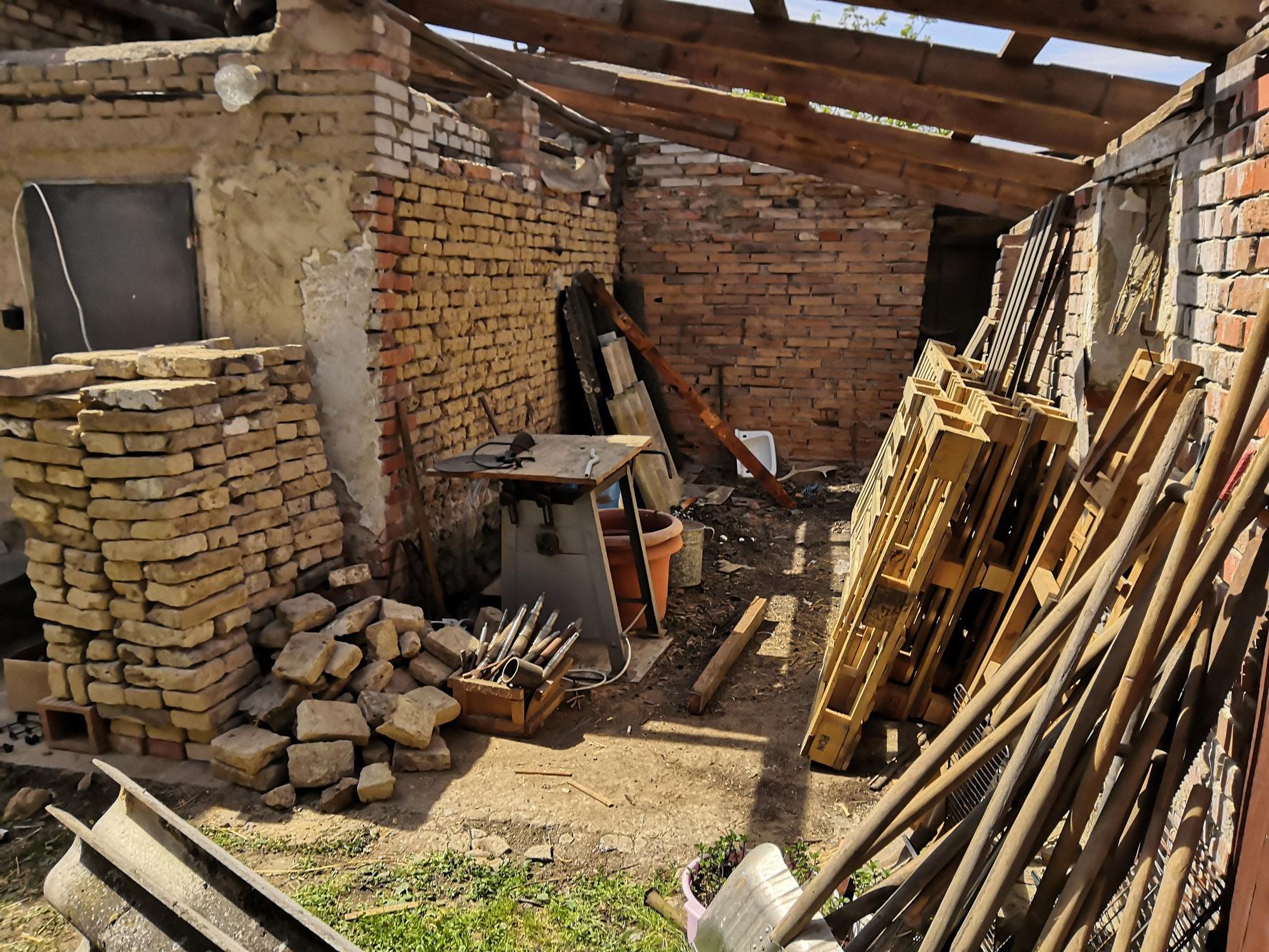 Bourání staré a stavba nové řadovky - Obrázek č. 13