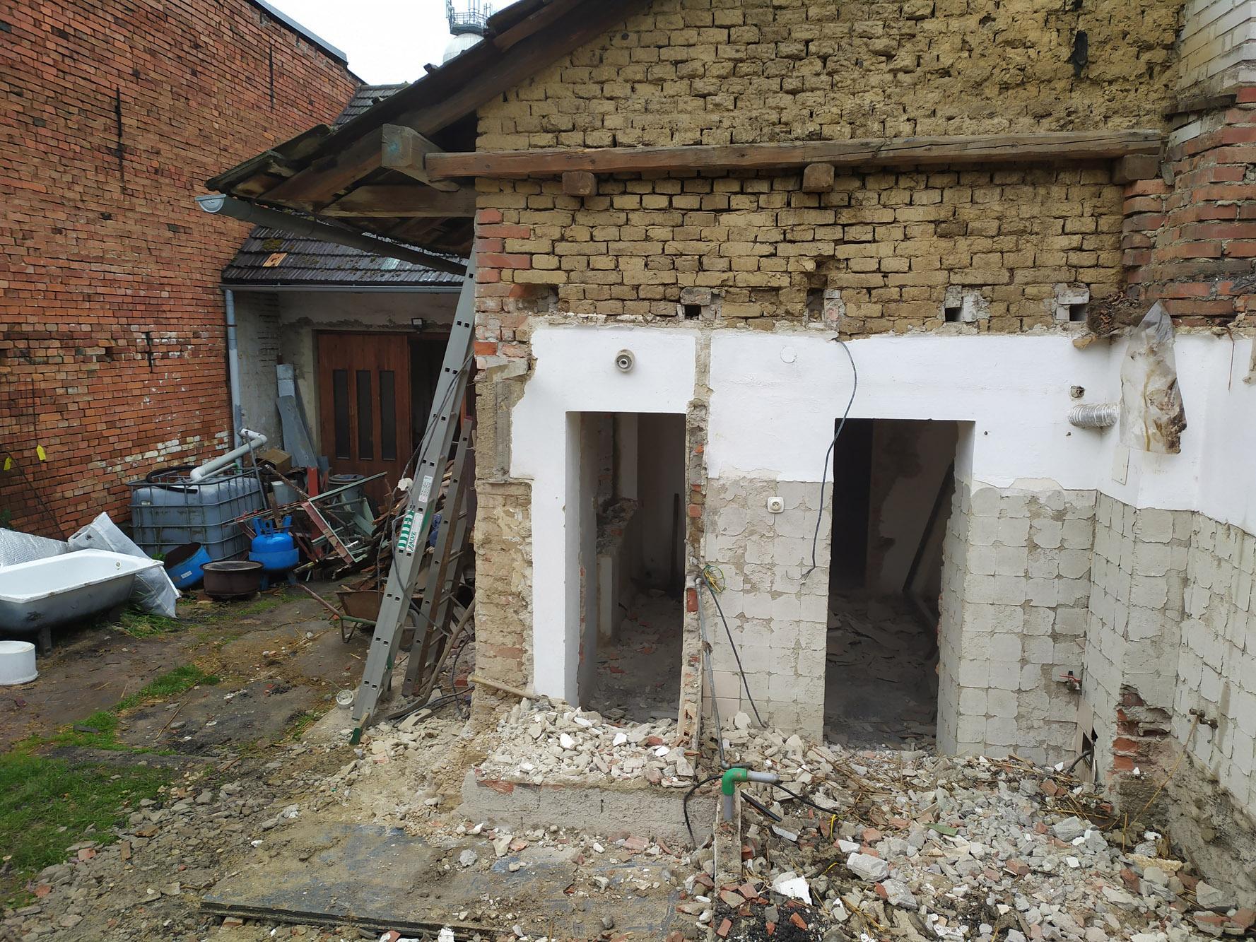 Bourání staré a stavba nové řadovky - Obrázek č. 19