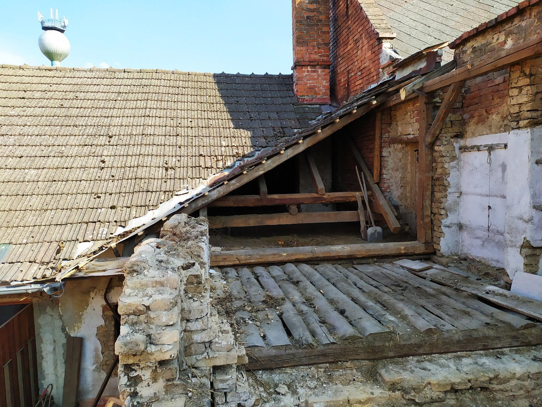 Bourání staré a stavba nové řadovky - Obrázek č. 27