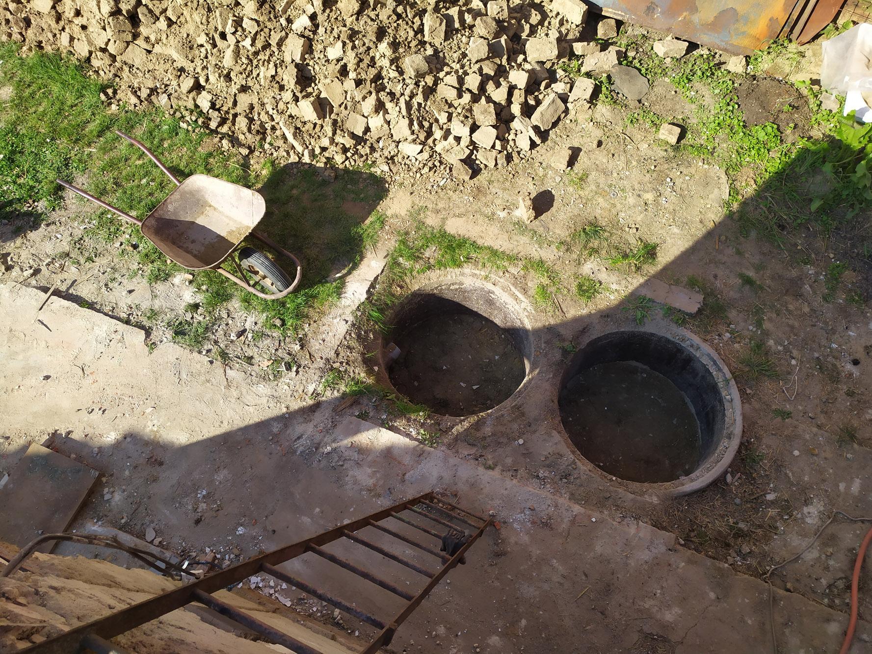 Bourání staré a stavba nové řadovky - Obrázek č. 30