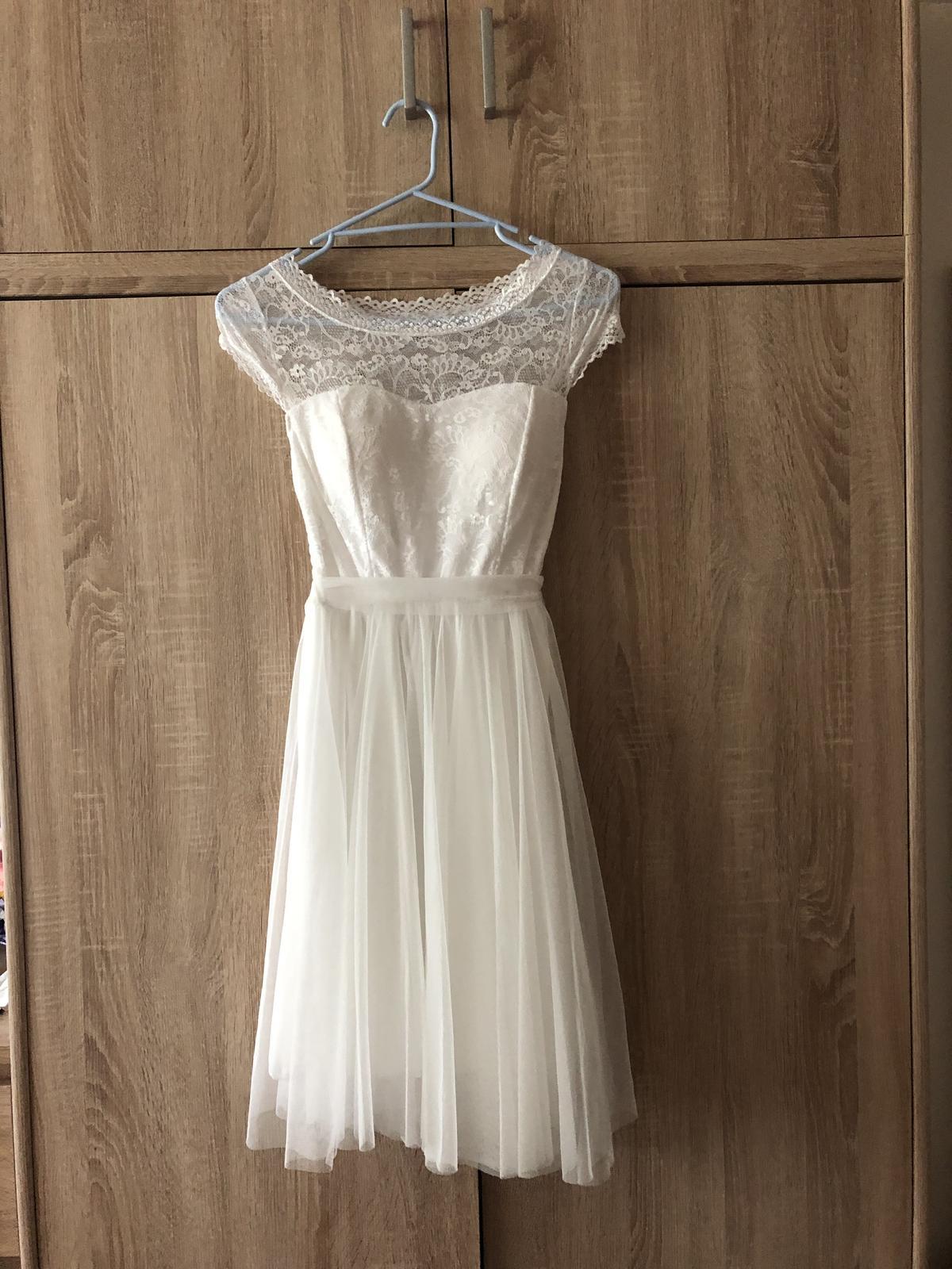 Šaty svatební, popůlnoční, večerní - Obrázek č. 1