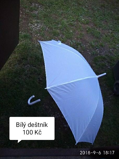 Deštník bílý - Obrázek č. 1