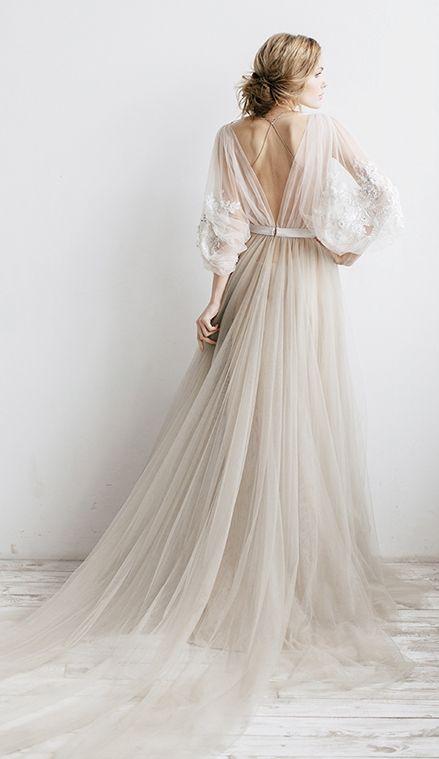 BOHO svadobné šaty 36/38 RARA AVIS - Obrázok č. 1