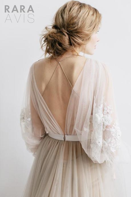 BOHO svadobné šaty 36/38 RARA AVIS - Obrázok č. 2