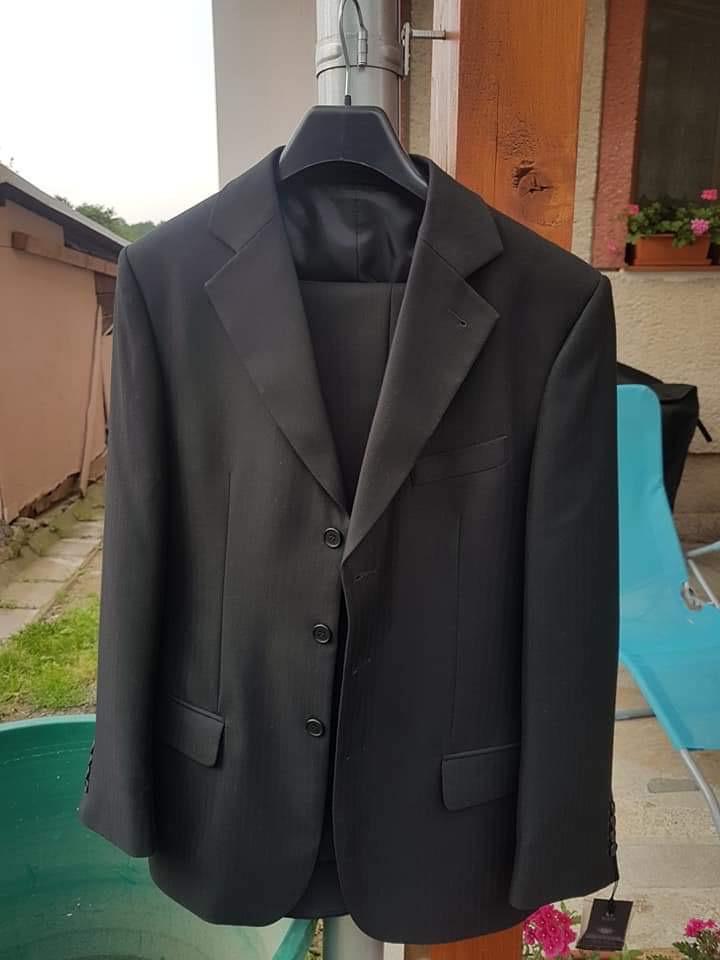 Predám pánsky oblek - Obrázok č. 1