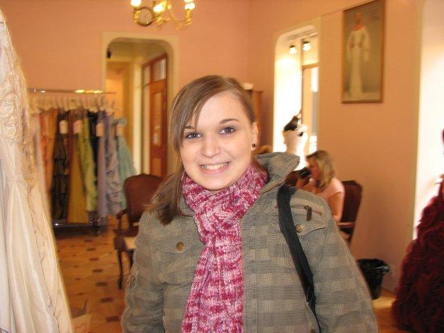 Svatba A+P, šaty - Moje nejmladši sestřička Markétka byla se mnou