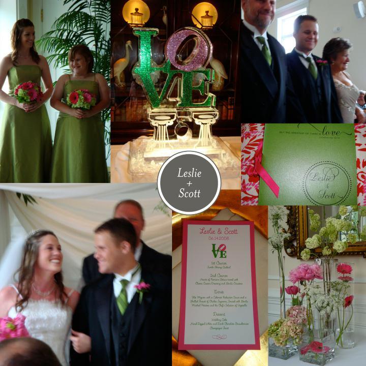 Pink+green wedding - Obrázok č. 1
