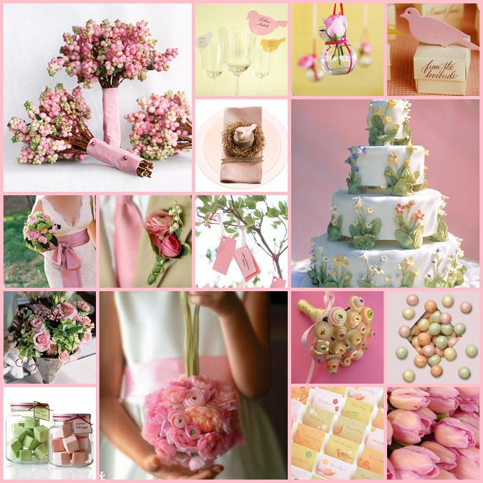Pink+green wedding - Obrázok č. 2