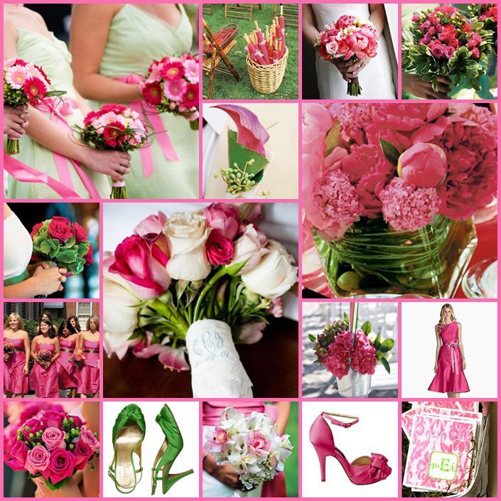 Pink+green wedding - Obrázok č. 3