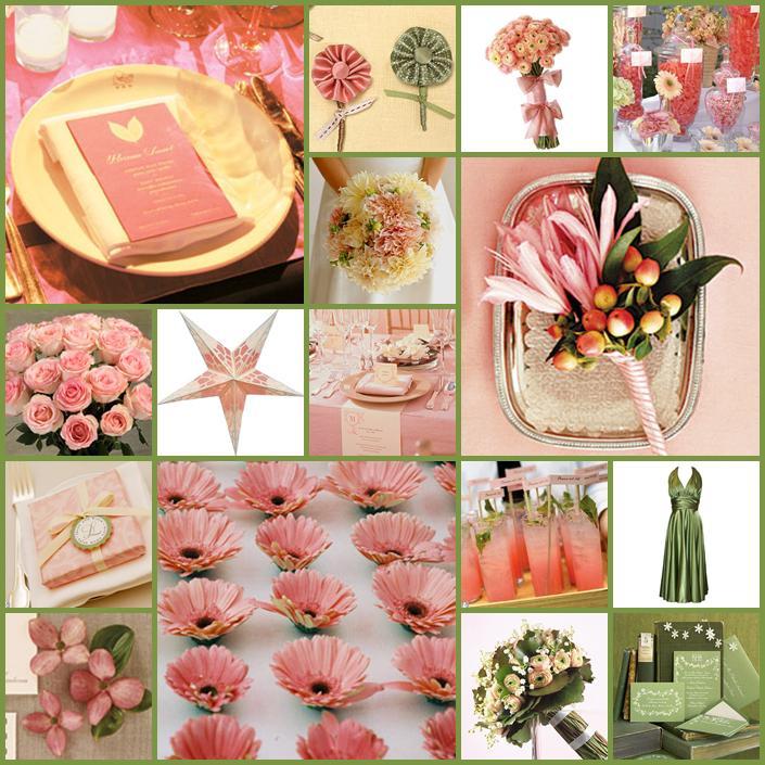 Pink+green wedding - Obrázok č. 4