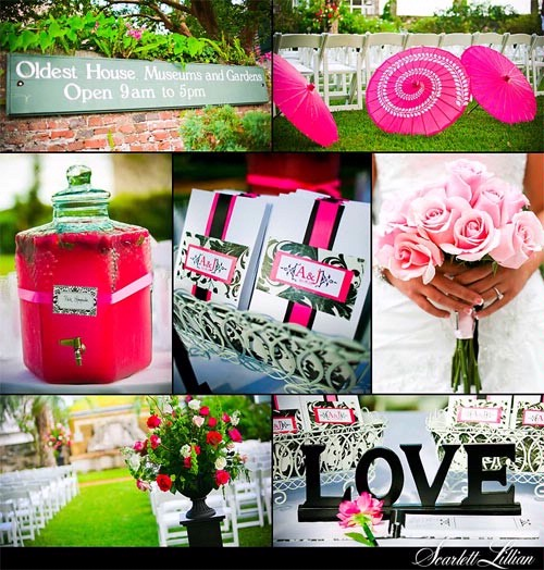 Pink+green wedding - Obrázok č. 7
