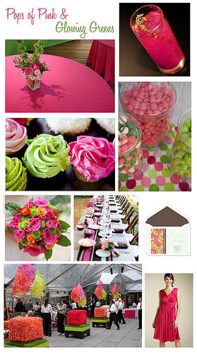 Pink+green wedding - Obrázok č. 8