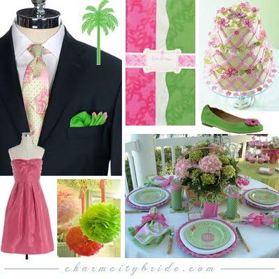 Pink+green wedding - Obrázok č. 11
