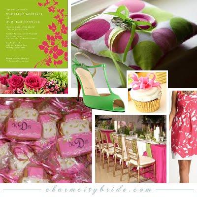 Pink+green wedding - Obrázok č. 12