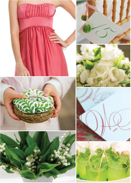 Pink+green wedding - Obrázok č. 13