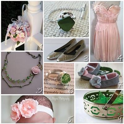 Pink+green wedding - Obrázok č. 15